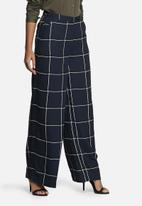 Vero Moda - Grid Wide Pants