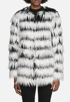 Noisy May - Duo Faux Fur Jacket