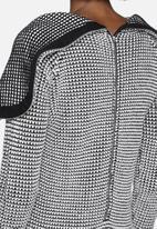 Noisy May - Jam Long Hooded Knit Dress
