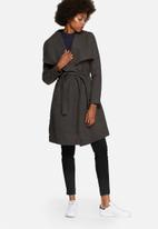 Jacqueline de Yong - Dannie Long Belted Coat