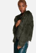 ONLY - Pony Faux Fur Jacket