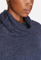 ONLY - Oseana Roll Neck Poncho