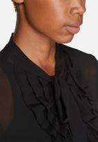 ONLY - Frilla Bow Shirt