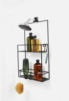 Umbra - Cubiko shower caddy - black
