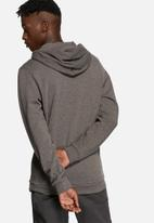 Earl Hooded Sweater Grey Melange Jack Jones Hoodies Sweats