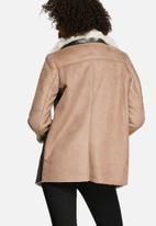 Glamorous - Multi-Textured Overcoat