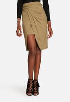 Glamorous - Wrap Pencil Skirt