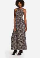 Glamorous - 70s Cut-Out Maxi Dress