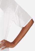 Glamorous - Sheer tunic top