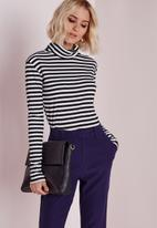 Missguided - Ribbed rollneck top