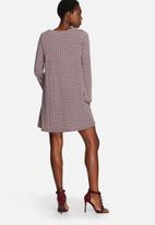 Glamorous - Geometric Skater Dress