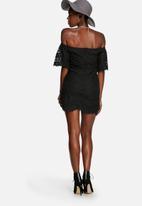 Glamorous - Lace off shoulder dress