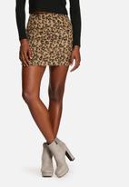 Glamorous - Leopard Pony Skirt