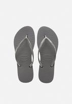 Havaianas - Slim - steel grey