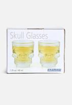 Big Blue - Skull Glasses