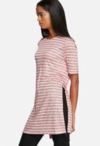Glamorous - Stripe Tee Dress