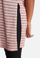 Glamorous - Stripe Tee Dress