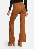 Glamorous - Flare Suedette Pants