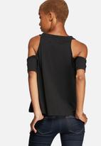 MINKPINK - Together Now cold shoulder top