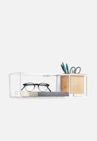 Umbra - Cubist shelf small