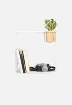 Umbra - Cubist shelf large