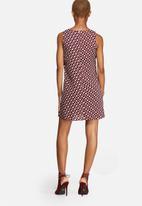 Glamorous - Geo Print Slim Dress