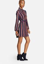 Glamorous - Stripe & Tie Dress