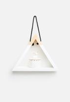 Sixth Floor - Triangle Hanging Shelf