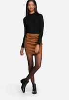 Jacqueline de Yong - Tinka Faux Suede Skirt