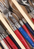 Superbalist Wine & Dine - 24 Pce Paris Mix Cutlery Set