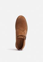 Selected Homme - Royce Light Suede Monk Shoe