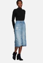 ONLY - Ashton Midi Denim Skirt