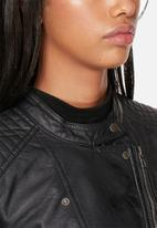 ONLY - Freya faux leather biker jacket