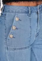 ONLY - Lea Highwaisted Denim Flared Jeans