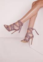 Missguided - Ankle Lace Up Gladiators