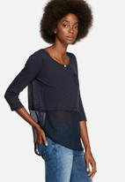 ONLY - Jessica chiffon top