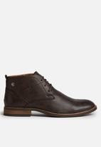 Gino Paoli - Distressed Lace Up Ankle Boot