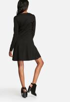 VILA - Tinny skater zip dress