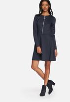 VILA - Tinny skater zip dress
