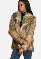 Noisy May - Foxy faux fur jacket