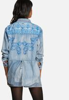 MINKPINK - Western flick split back shirt