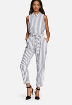 MINKPINK - Chloe stripe sleeveless shirt