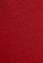dailyfriday - Chev polo neck dress