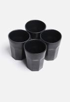Urchin Art - Set of 4 water glasses