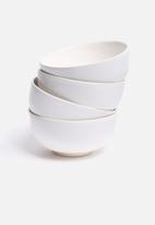 Urchin Art - Set of 4 bowls