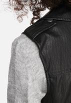 ONLY - Katoe PU waistcoat