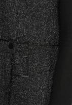 Lola May - Tweed buckle Co-ord with raw edge
