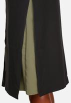 Lola May - Longline jacket with back panel