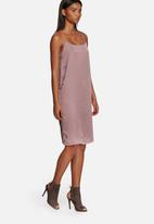 Neon Rose - Luxe slip dress