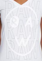 G-Star RAW - Mauera slim V-neck tee